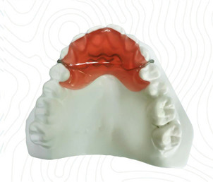 orthodontic bite plate